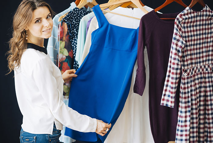 lavado diferentes prendas de vestir